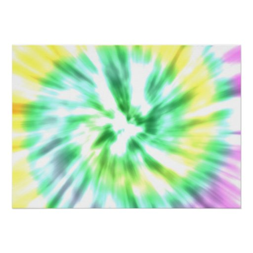 Tie dye watercolor pastels hipster ikat pattern posters