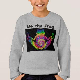 Tie Dye Zen Frog Sweatshirt