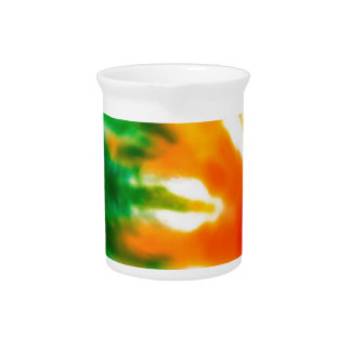 Tie Dyed Pitcher