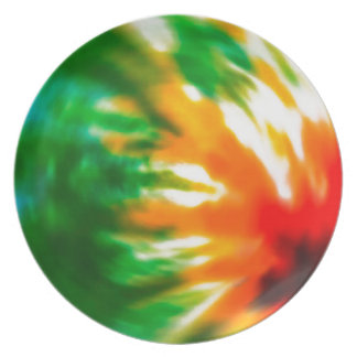Tie Dyed Plate
