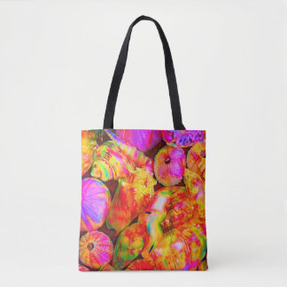 Tie-Dyed Shells Tote Bag