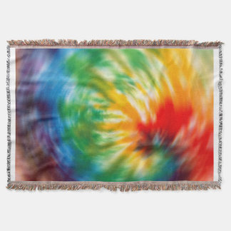 Tie Dyed Throw