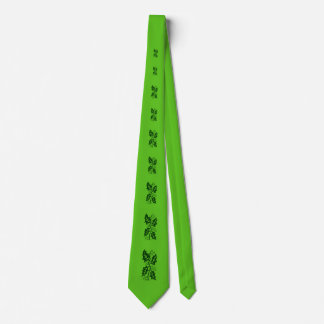 Tie - Green Holly