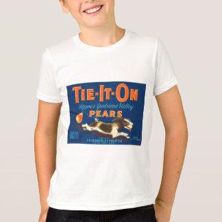 Tie-It-On Pears Vintage Advertisement T-Shirt