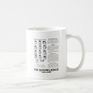 Tie Knowledge (Neckclothitania) Coffee Mugs