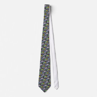 Tie, piano keys and music notes tie