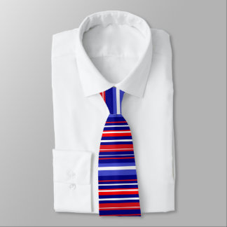 TIE - RED, WHITE AND BLUE!