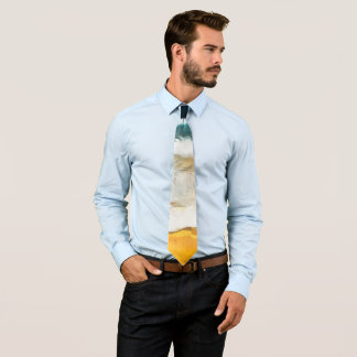 Tie with beach sample