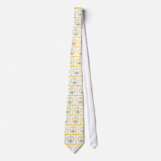 Tie with Flag of Rhode Island, U.S.A.