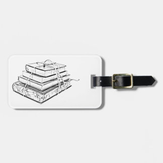 Tied Books Sketch Luggage Tag