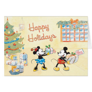 Tied Parcels Disney Card