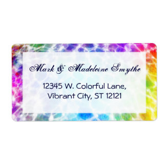 Tiedye Hippie Wavy Rainbow Effect