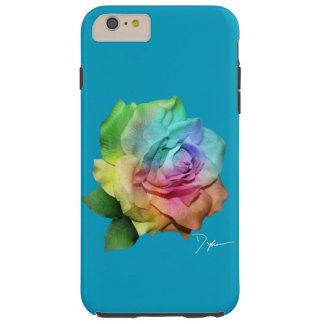 TieDye Rose Tough iPhone 6 Plus Case
