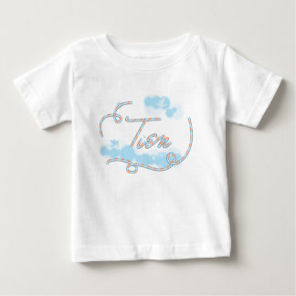 tien name typography T-shirt