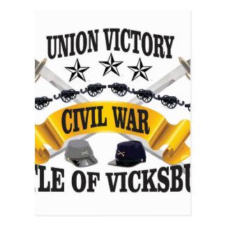 tient le premier rôle le vickburg de casquettes carte postale