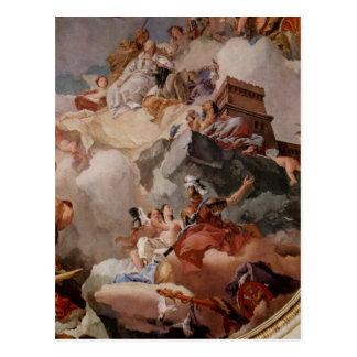 Tiepolo, Giovanni Battista Fresken im k?niglichen  Postcard