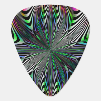 Tierazon Fractal Lines Guitar Pick
