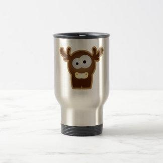 Tierkinder: junger Hirsch 15 Oz Stainless Steel Travel Mug