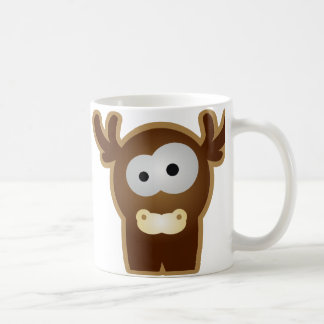 Tierkinder: junger Hirsch Classic White Coffee Mug