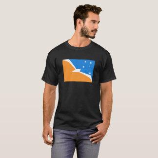 Tierra del Fuego Argentina flag fire land province T-Shirt
