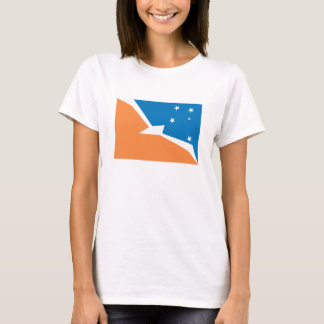 Tierra Del Fuego Flag T-shirt