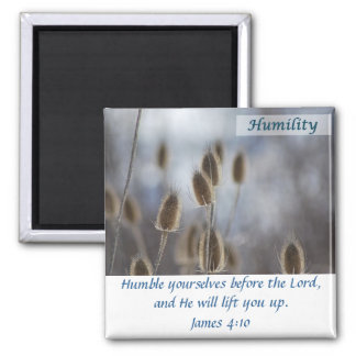 Tiesel - Humility Square Magnet