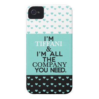 Tiffan(i) No Company Case-Mate iPhone 4 Case
