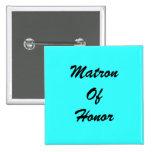 Tiffany Blue Matron Of Honour PIn