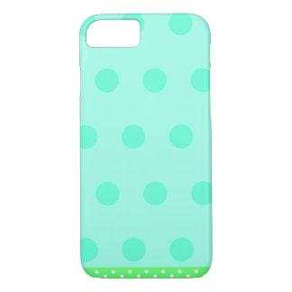 Tiffany Blue Polka Dots iPhone 7 Case