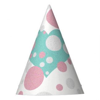 Tiffany Girl Polka Dot Baby Party Hat