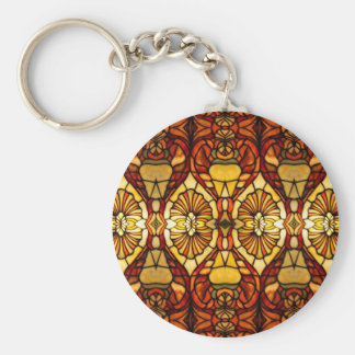 Tiffany Lamp Symmetry Keychain
