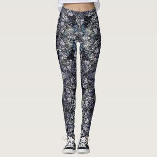Tiffany Marble Leggings