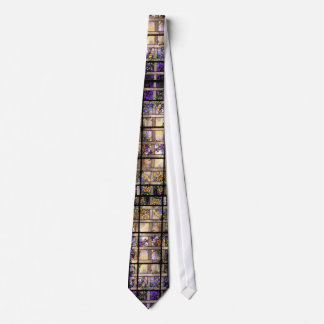 Tiffany Stained Glass Lattice Vine Tie