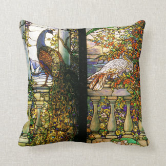 Tiffany Stained Glass Nature Pillow