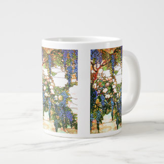 Tiffany Stained Glass Wisteria Jumbo Mug