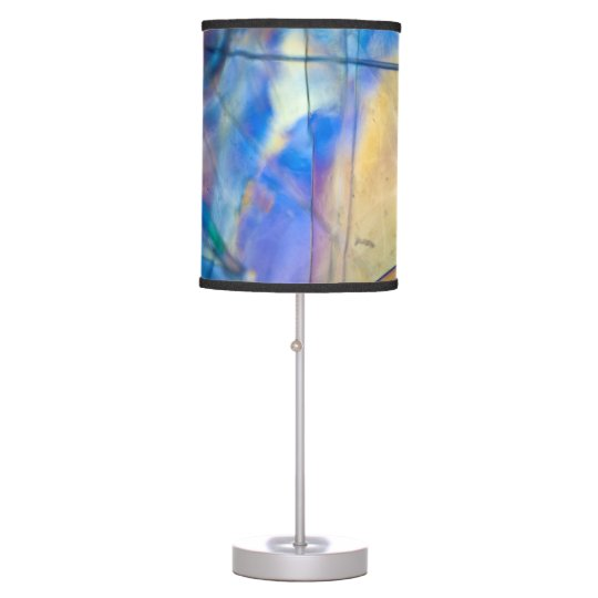 Tiffany's Blue Custom Table Lamp