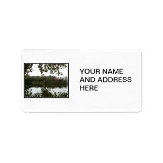 Tifft Nature Preserve pond Personalized Address Labels