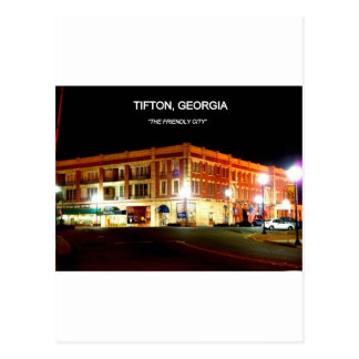 TIFTON, GEORGIA POSTCARD