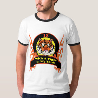 Tiger 18th Birthday Gifts T-Shirt