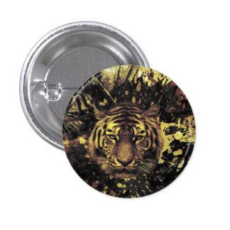 Tiger 1 Inch Round Button
