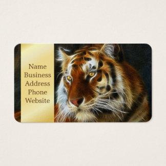 Tiger 3d artworks business card