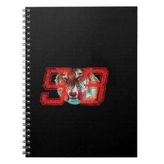 Tiger 3D Notebook