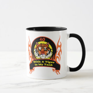 Tiger 40th Birthday Gifts Mug