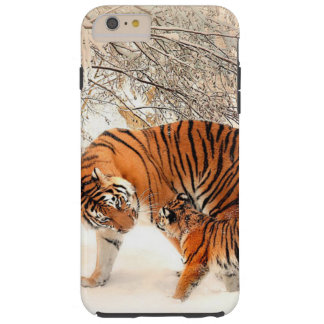 Tiger and Baby Tiger Phone Case