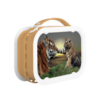Tiger and Cub Lunchbox