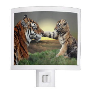 Tiger and Cub Night Light