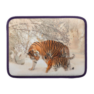 Tiger and cub - tiger sleeve for MacBook air