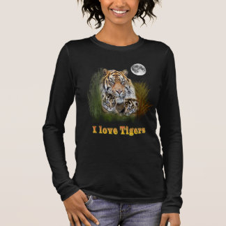 Tiger and cubs long sleeve T-Shirt