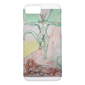 tiger and dragon fantasy Case-Mate iPhone case
