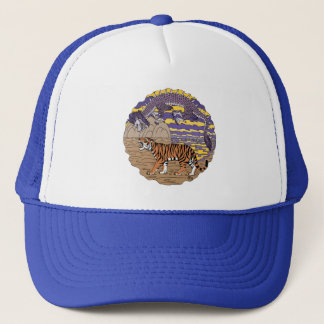 Tiger and Dragon Trucker Hat